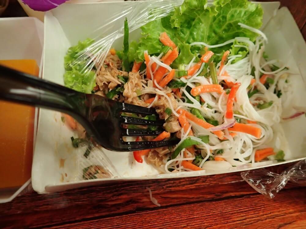 タイスマイル機内食