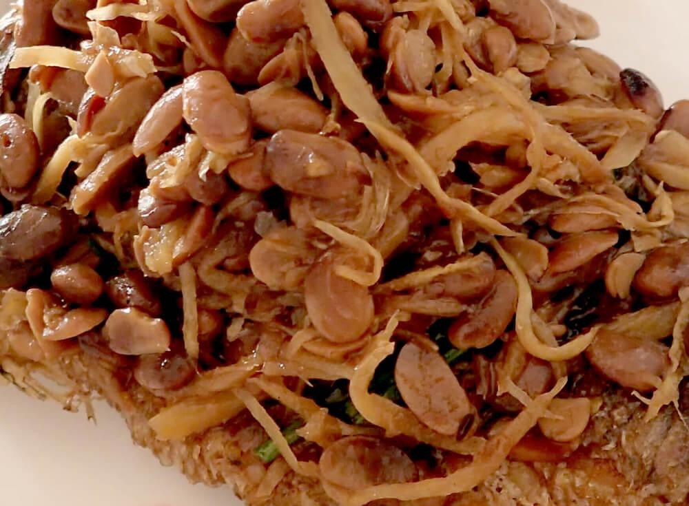 カンボジアの納豆